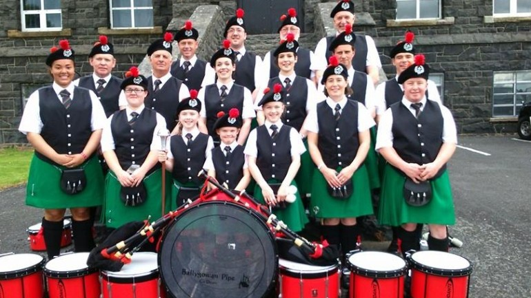 Ballygowan Pipe Band Featured Photo | Hooley!