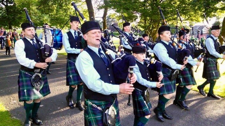 Cleland Memorial Pipe Band Featured Photo | Hooley!