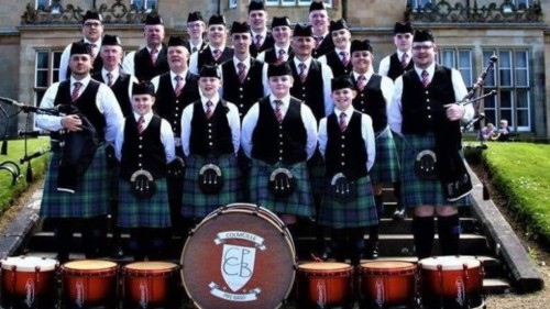 Colmcille Pipe Band Featured Photo