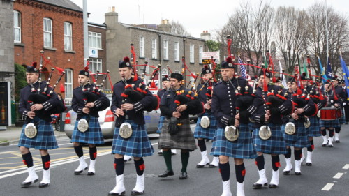 Dublin Fire Brigade Pipe Band Featured Photo