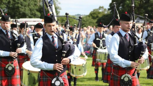 Field Marshal Montgomery Pipe Band Featured Photo