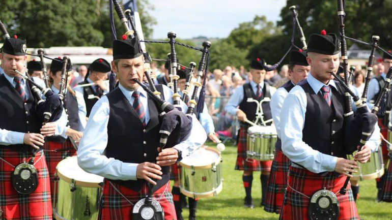 Field Marshal Montgomery Pipe Band Featured Photo | Hooley!