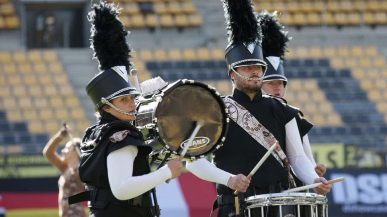 Vikings Drum Corps Featured Photo   Hooley!